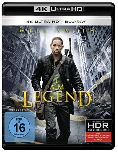 I Am Legend (4K Ultra HD + 2D-Blu-ray) (2-Disc Version) [Blu-ray]