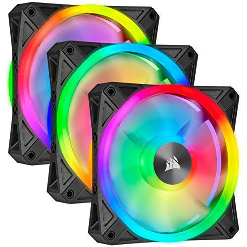[FAN] Corsair QL Series, Ql120 RGB, 120mm RGB LED Fan, Triple Pack with Lighting Node Core [$139.99 - $42.13] - $97.86