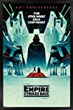 Trends International Star Wars: The Empire Strikes Back-40th Anniversary Wall Poster, 22.375' x 34', Black Framed Version