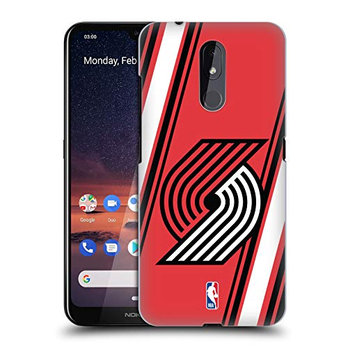 Officiële NBA Strepen Portland Trail Blazers Hard Back Case Compatibel voor Nokia 3.2