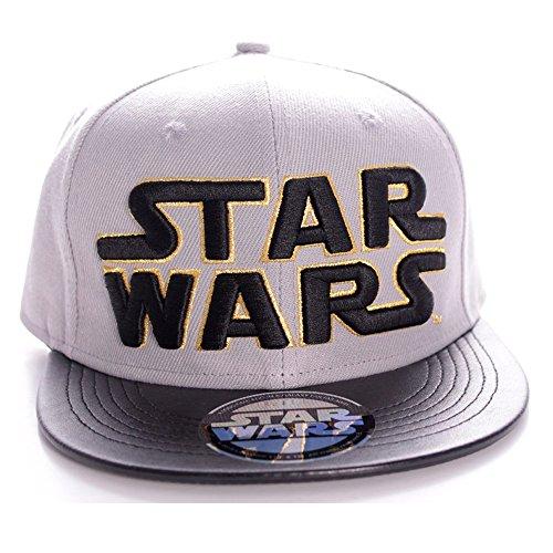 Star Wars - Gorro con logo, color gris (Cefa Toys ACSWLOGCP002)