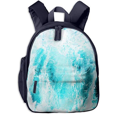 Kinderrucksack Kleinkind Jungen Mädchen Kindergartentasche Rauer Seeschaum Backpack Schultasche Rucksack