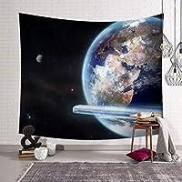 星空の惑星宇宙タペストリー3Dビジョンタペストリー壁掛けタペストリーリビングルームの寝室の装飾 SHWSM (Color : C, Size : 229x150)