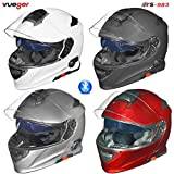 RS-983 Bluetooth Klapphelm Motorradhelm Conzept Motorrad Modular Helm rueger, Größe:M (57-58),...