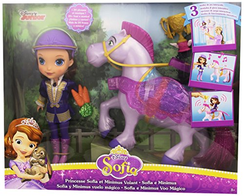 Disney Princess CKH33 - Principessa Sofia e Minimus