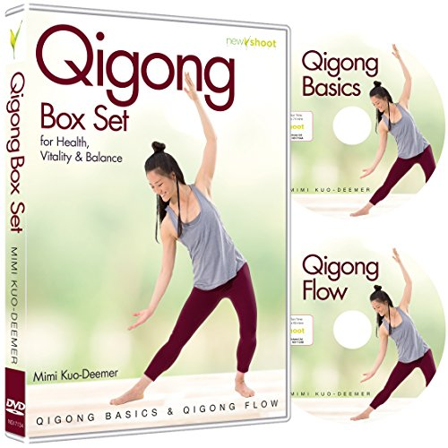 Qigong Box Set (2 Dvd'S, Qigong Basics &Amp; Qigong Flow) With Mimi Kuo-Deemer