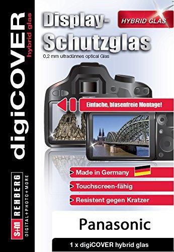 digiCOVER Hybrid Glas Displayschutz Panasonic DMC-SZ10