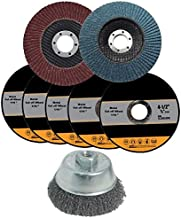 4-1/2 Inch Angle Grinder Accessories & Attachment Kit, Set of 8