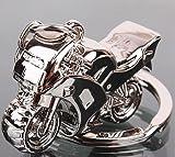 Familienkalender Schlüsselanhänger Motorrad aus Metall 4cm | Geschenk für Männer | Herren | Bike | Rennmotorrad | Rennmaschine | Maschine | Motorradfahrer |