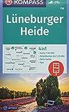 KOMPASS Wanderkarte Lüneburger Heide: 4in1 Wanderkarte 1:50000 mit Aktiv Guide und Detailkarten inklusive Karte zur offline Verwendung in der ... (KOMPASS-Wanderkarten, Band 718)