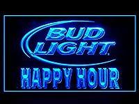 Bud LightビールHappy Hour Drink LED Light Sign