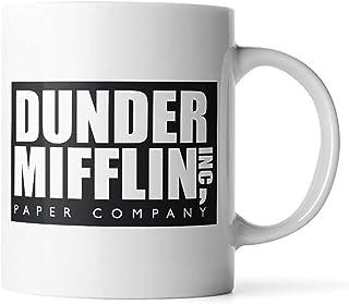 WuRen SYNCHKG111723 Dunder Mifflin The Office - لیوان قهوه خنده دار توسط Donbicentenario ، یک اندازه ، چند رنگ