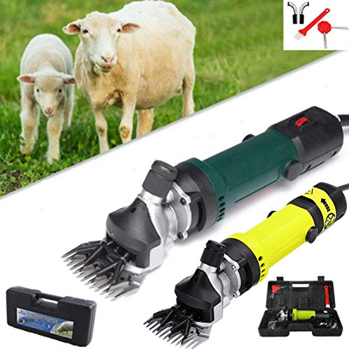 Changli Esquiladora para ovejas Profesional eléctrica 850 W máquina para esquilado de ovejas. Máquina Corte para Animales Que producen Lana. Fibra de Lana