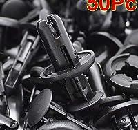 50 pc 11816 8 ミリメートル径自動車バンパーファスナートヨタ日産ホンダ cbt エンジンカバーフェンダードアトリムパネルクリップ