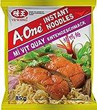 A-ONE Fideos Instantáneos, Sabor Carne De Pato Tostado 85 g