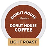 Donut House Collection Donut House Coffee, Single-Serve Keurig K-Cup Pods, Light Roast Coffee, 72 Count