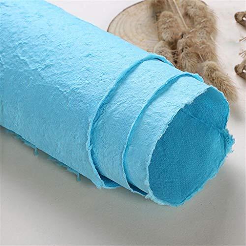 Kang-jz DIY Handgemaakt Papier, Rose Bloem Decoratie Papier Kunstmatige Bloem Geschenkdoos Inpakpapier Verrassing Scene Decoratie Materiaal Mooie 64 * 94CM D