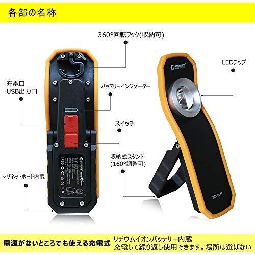 グッド・グッズ『LED軽量作業灯(YC-06H)』