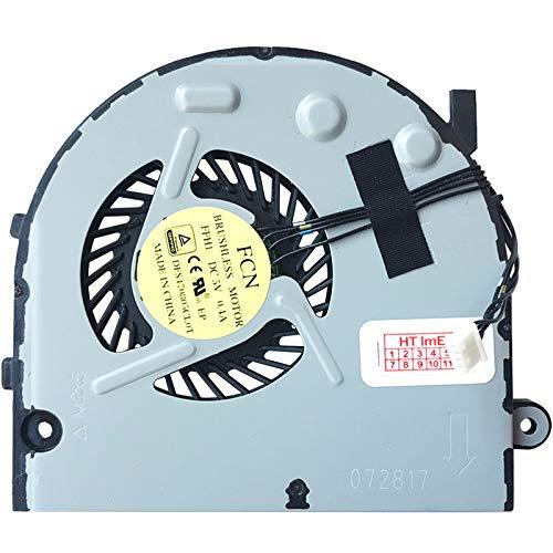 Ventilador de ventilador compatible con Lenovo B50-80 (80EW00HHGE), B50-80 (80EW03D9GE), B50-80 (80EW00HHUK), B50-80 (80EW03DAGE), B50-80 (80EW00HMGE), B50-80 (80EW0521GE)