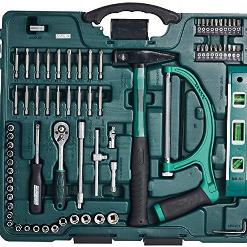 Mannesmann 89-teiliger Premium Universal- und Haushalts-Werkzeugkoffer, M29085 - 3