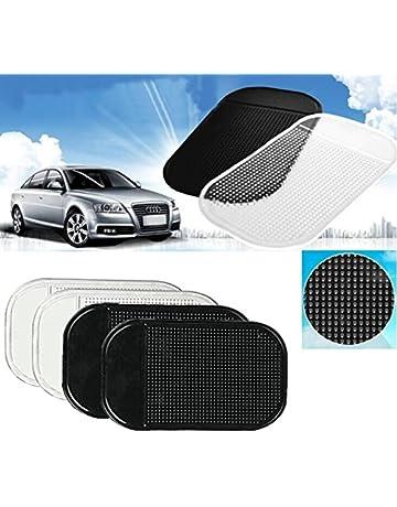 Occhiali GPS Car Rilievo Appiccicoso iPod LAUTO 3 Pezzi Tappetino Antiscivolo per cruscotto Anti-Scivolo per telefoni cellulari Chiave Adatto per Audi Q5 Q3 Q8 A3 A4 A7 Q7 A6 TT R8 SQ5,Logo