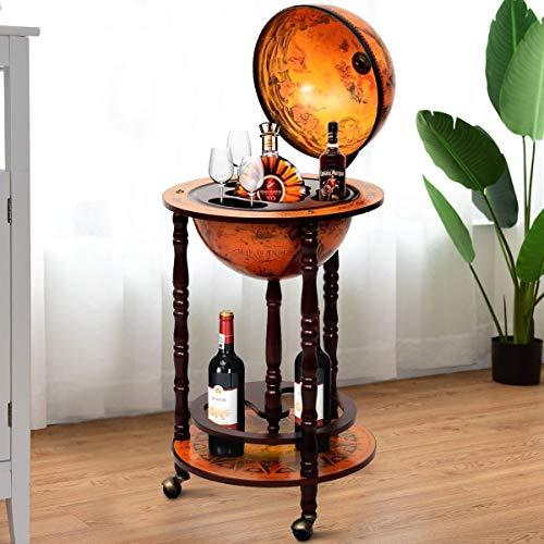Globusbar Globus Bar Minibar Hausbar Weltkugel Cocktailbar Dekobar Tischbar NEU - 3