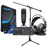 Presonus Audiobox 96 - Set de grabación de estudio y soporte para micrófono