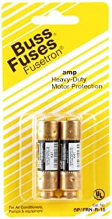 Bussmann BP/FRN-R-60 60 Amp Fusetron Dual Element Time-Delay Current Limiting Class RK5 Fuse, 250V Carded UL Listed, 2-Pack Size: , Model: BP/FRN-R-60, Tools & Hardware store