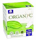 Organyc Damenbinden mit Flügeln für die Nacht aus 100% biologischer Baumwolle, 4er Pack (4 x 10...