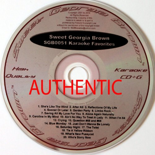 SGB-0051(Karaoke CD&G) (US Import)