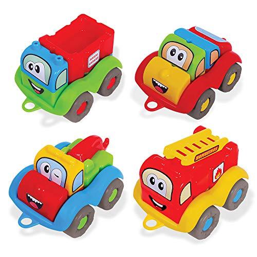 Blocos M-Bricks Cars Caixa, Maral, Multicor