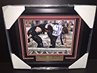 Wwe Wwf Mick Foley Mankind Autographed Framed 8x10 Photo Undertaker 1998 Hitc