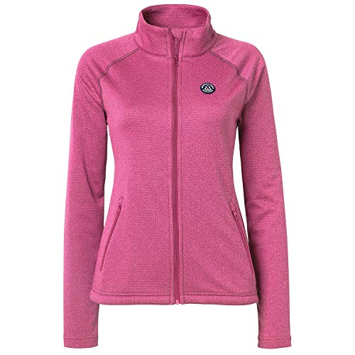 Mountain Horse Womens Holiday Fill Zip Tech Fleece Rosa