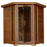 Whistler - 4 Person Corner Cedar Heatwave Sauna!