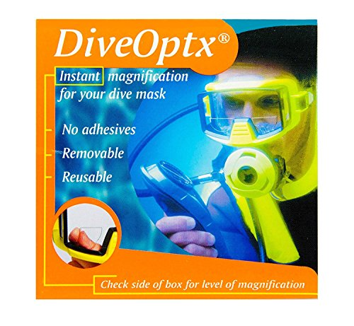 Scuba Divers Stick on Magnifying Reading Lenses for Diving Masks, Ski...