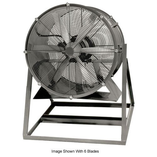 Amazing Deal Americraft 30 TEFC Aluminum Propeller Fan With Medium Stand 1/3 HP 6900 CFM
