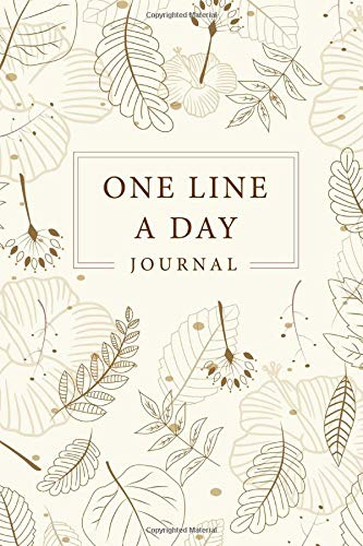 One Line a Day Five Year Memory Book: Every Day for 365 day, Dated and Lined Book, Record Memories, 5 Year Journal Notebook, Writing a Daily Journal, ... Day A Five Year Memory Book) (Volume 2)