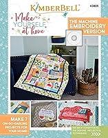 Kimberbell Make Yourself at Home Machine 刺繍CDと本KD805