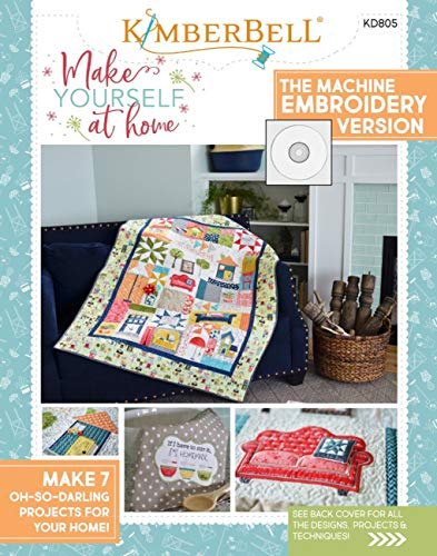 Make Yourself at Home Machine Embroidery CD and Book by Kim Christopherson