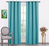 JUPON Silk Blackout Curtain (Pack of 1 Piece) with 3 Layers Weaving Technology