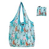 Lifemaison エコバッグ 折りたたみ 手提げ袋 ショッピングバッグ 買い物袋 軽量 丈夫 洗える 大容量 防水 再利用可能(8#)