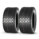 MaxAuto 22x9.5-12 22x9.5x12 Turf Tires for Lawn & Garden Mower 4 Ply, Set of 2