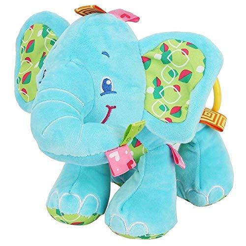 Babybed Opknoping Toy, Olifant van Kinderwagen Rattle speelgoed Crib wandelwagen Mobile Opknoping Rammelaars for Infant Pasgeboren (Kleur: Blauw) (Color : Blue)