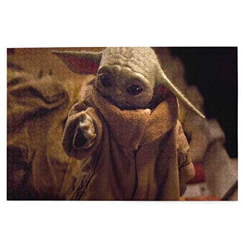 The Child Baby Yoda - Rompecabezas de 1000 piezas para adultos, rompecabezas de 1000 piezas para adultos