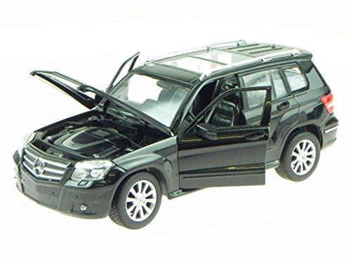 Mercedes X204 GLK schwarz Modellauto 34000 Rastar 1:24