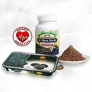 Combo Al Ajwa Dates 800g & Al Ajwa Seeds Powder