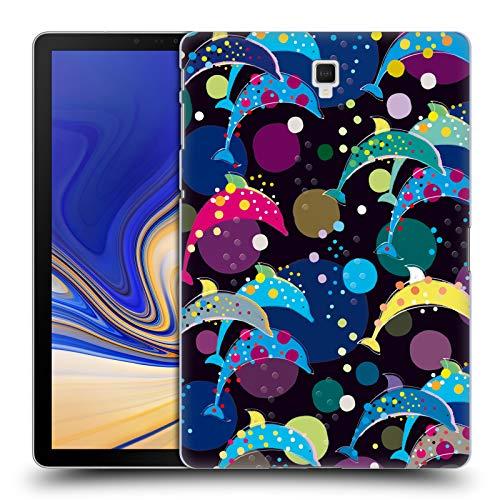Head Case Designs Offizielle Turnowsky Delfin Nacht Anna B Harte Rueckseiten Huelle kompatibel mit Galaxy Tab S4 10.5 (2018)