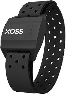 Heart Rate Monitor XOSS Optical Heart Rate Sensor Armband with Bluetooth ANT+ for Peloton, Endomondo, Strava, Wahoo, Garmi...