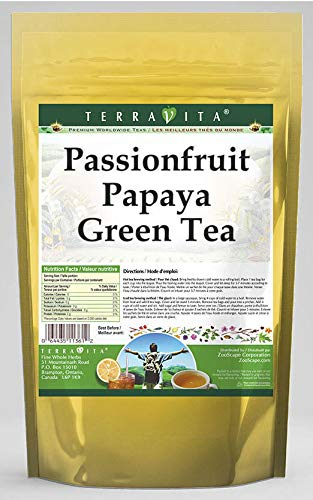 Passionfruit Papaya Green Tea (50 Tea Bags, ZIN: 540542)
