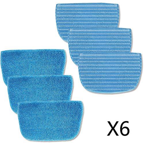 Neatec Steam Mop Fiber Cloth 6 pezzi per EUM30B, EUM30C, EUM45B, EUM45C